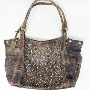 Frye Deborah Leather Shoulder Bag